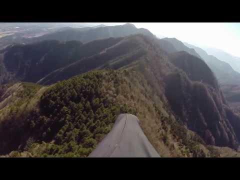Paragliding at Asagiri, Japan