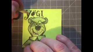 Y — How to draw Yogi Bear