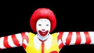 animasa kfc s colonel sanders vs mcdonald s ronald mcdonald