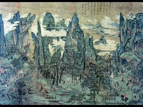 Lecture 4B - Tang Dynasty Landscape Painting - YouTube
