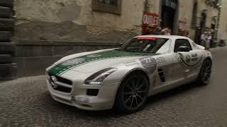 Dubai Police's Mercedes-Benz SLS arrives in Italy   Mille Miglia   Emirates SkyCargo