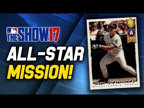 [EXCLUSIVE] NEW ALL-STAR MISSION! JIM EDMONDS REWARD!   MLB The Show 17 Diamond Dynasty
