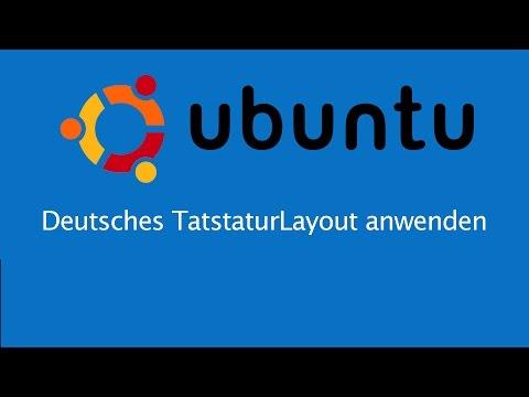 Deutsche Tastatur unter Ubuntu einstellen - Shell