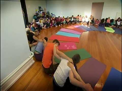 rainbow kids yoga at the circle tv show  channel 10