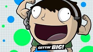 TOP TEN BIGGEST YOUTUBERS - Agar.io (Agario Gameplay & Skins)