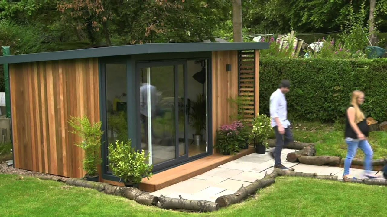 office in the garden. The Garden Office Features On Season 3 Of Channel 4\u0027s Double Your House For Half Money In
