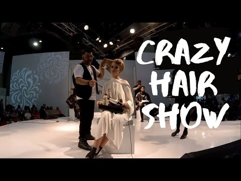 CRAZY HAIR SHOW | Expo Beauty Show Mexico