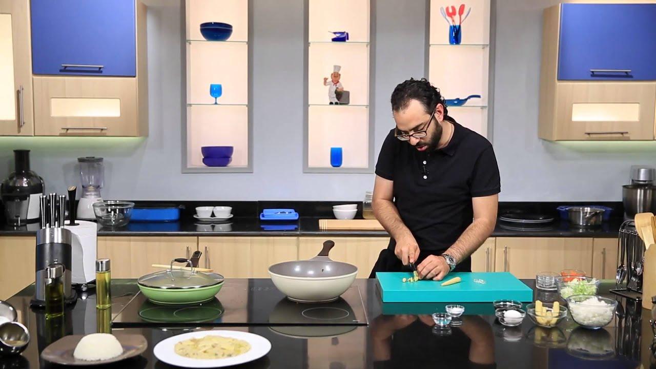 الأرز على البخار - الأرز البسمتى - الأرز المقلى - حلو الأرز المقلى : مطبخ 101 حلقة كاملة