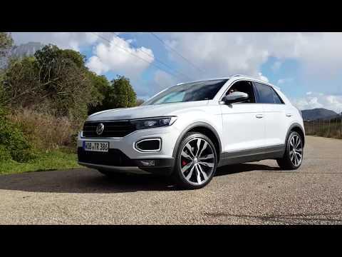 #TROC VW 2018 T-Roc NEU VW T Roc Sport + Style Interieur Exterieur 2017 LED Blinker POV Review