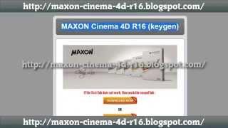 maxon cinema 4d r16 serial number