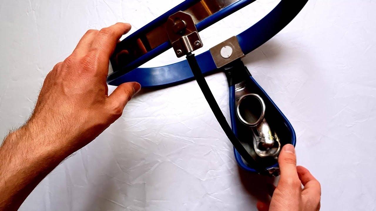 My steel chastity belt