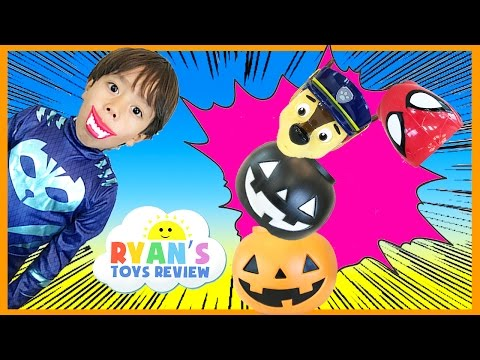 Thumbnail: HALLOWEEN SURPRISE PUMPKIN GAME Kids Toys Halloween Surprise Candy Gummy Booger Ryan ToysReview