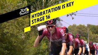 Hydratation is key - Stage 16 - Tour de France 2019