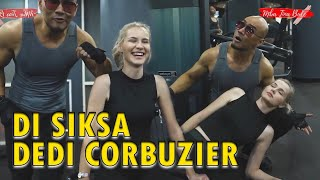 09. Deddy Corbuzier Siksa Mba Tina Bule Gym dan brazilian jijitsu