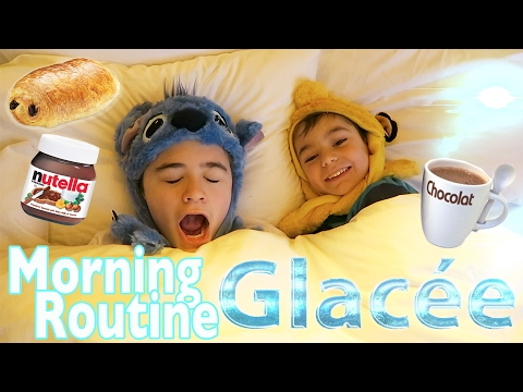VLOG - MORNING ROUTINE GLACÉE au SÉQUOIA LODGE DISNEY ❄️