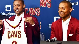 Isaiah Thomas Cavaliers Full Introductory Press Conference BreakDown | Cleveland Cavaliers