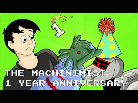 The Machinimist - One Year Anniversary (Now on Blistered Thumbs)