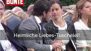 Carl Philip & Sofia: Liebestuschelei - BUNTE TV