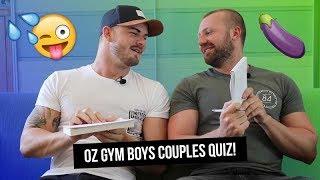Pornstar Couple OZGYMBOYS Do The XXX Rated Couple's Quiz!