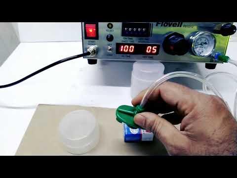 FLOVELL Doming Machine Fluid Glue Adhesive Applying Potting Dotting Dispenser Mumbai India