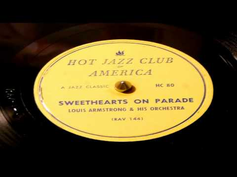 Sweethearts On Parade - Louis Armstrong And His Orchestra (HJCA)