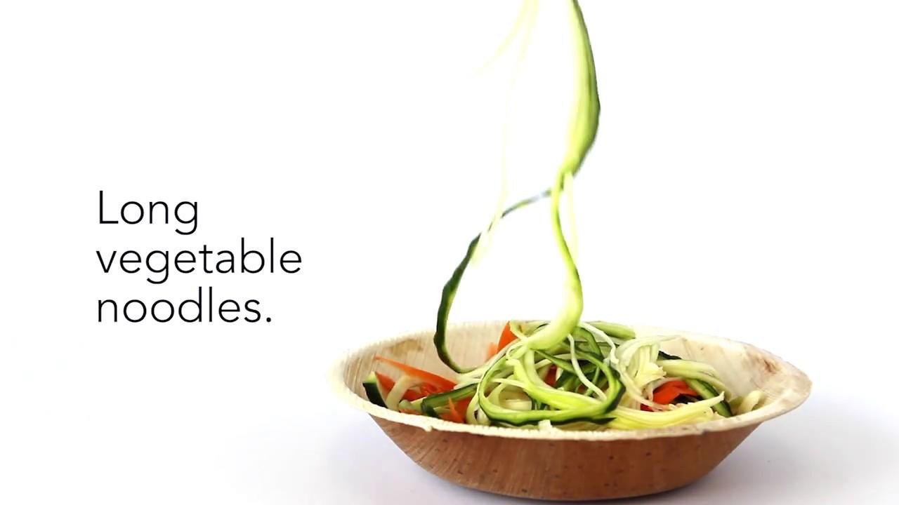 Vegetable Noodles   By Gefu Spiralizer