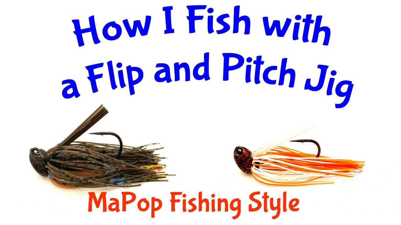 How to Fish with Jigs - Flip and Pitch Jigs with MaPop Fishing with Big Sack Baits Custom Lures