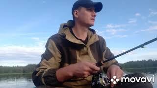 Рыбалка на лесном озере день 1 23 07 2021