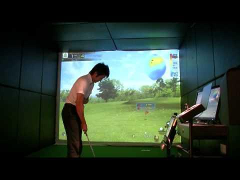 佐藤勇太プロ ゴルフレッスン 番外編 シミュレーションゴルフを回ろう第1話