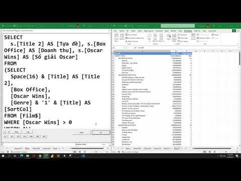Khóa học trọn bộ SQL cơ bản qua 500 câu truy vấn dữ liệu