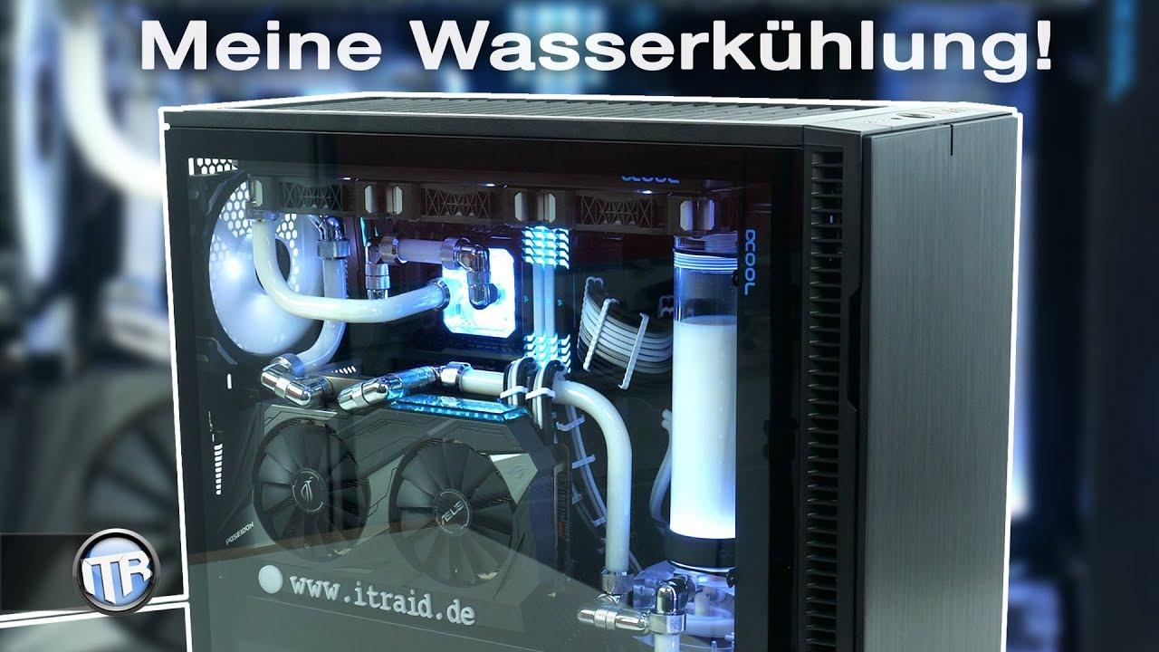 Die Wasserkühlung ist drin! i7 8700k + GTX 1080 Ti Poseidon - Custom-WaKü #2