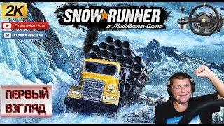 Snowrunner Стрим Обзор (Первый взгляд)Игра в подарок