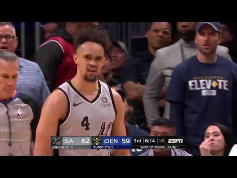 San Antonio Spurs Vs Denver Nuggets   April 13, 2019