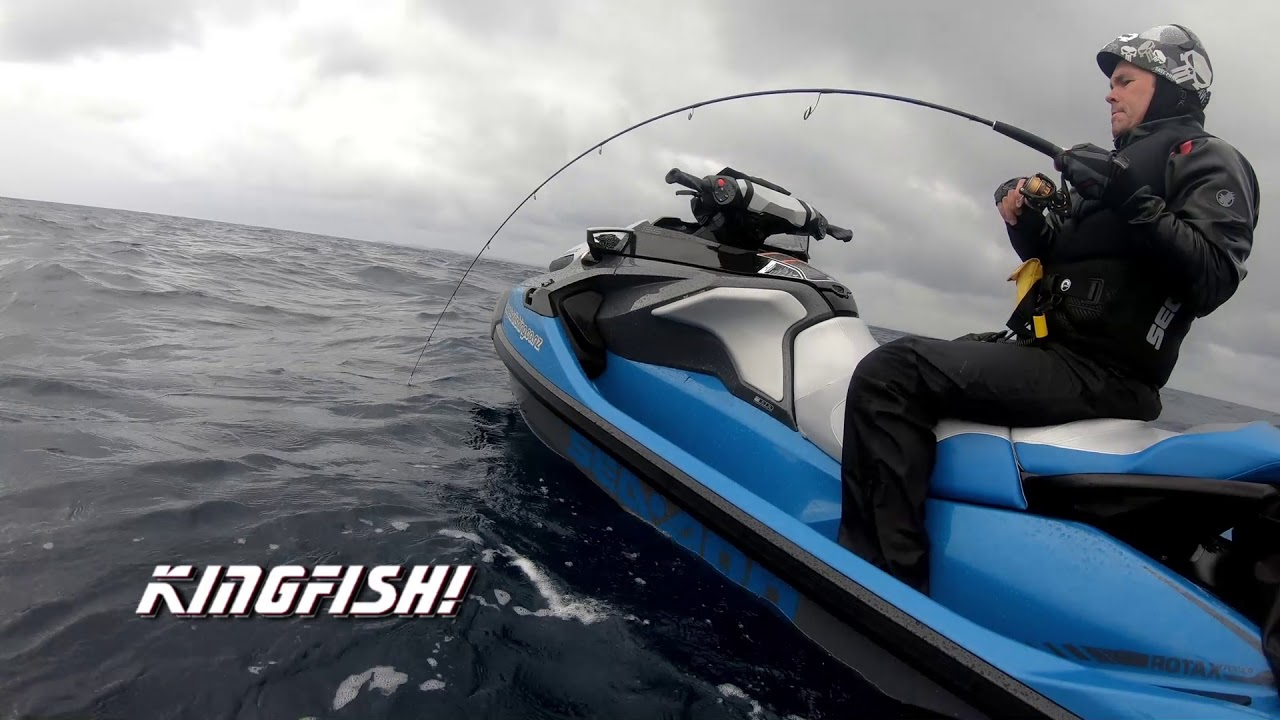 jet ski fishing with the new 2018 sea doo gtx youtube. Black Bedroom Furniture Sets. Home Design Ideas