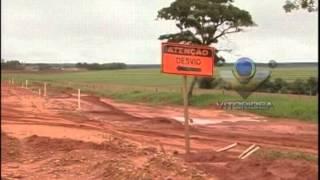 MGC-455 - Período chuvoso deixa rodovia em estado crítico