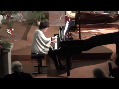 Nina Tichman spielt J.S. Bach (Goldberg-Variationen)