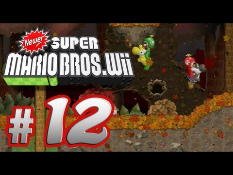 Newer Super Mario Bros. Wii - 100% Co-op Walkthrough Part 12