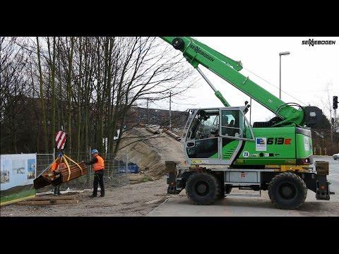 SENNEBOGEN 613 E-Series - yard logistic - Echterhoff Hanover/Germany