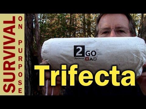 2 Go Trifecta Thermal Bivvy-Blanket-Tarp- Survival Gear