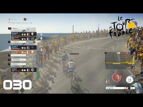Tour de France 2017 Pro Team [PS4] #030 - Starker Wind am Ventoux - Let's Play
