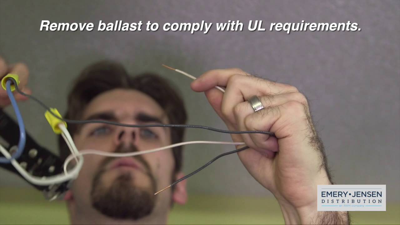 How To Install The Feit Ballast Bypass Youtube Led G24 Wiring Diagram