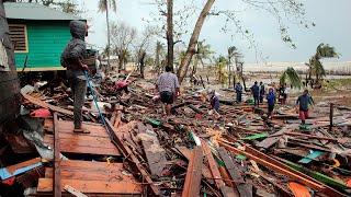 video: Watch: Hurricane Iota leaves trail of destruction across Central America