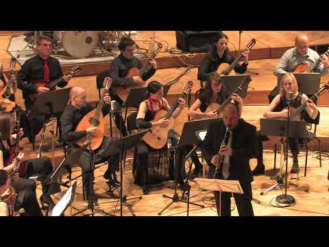 AVSENIK - SLOVENIJA OD KOD LEPOTE TVOJE - Orkester Mandolina Ljubljana Dir. & Klarinet: Andrej Zupan