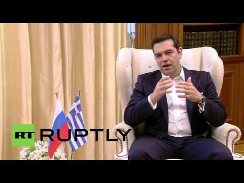 Greece: Putin And Tsipras Meet In Athens Ahead Of Bilateral Talks