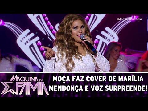 Participante faz cover de Marília Mendonça e voz surpreende! | Máquina da Fama (05/06/17)