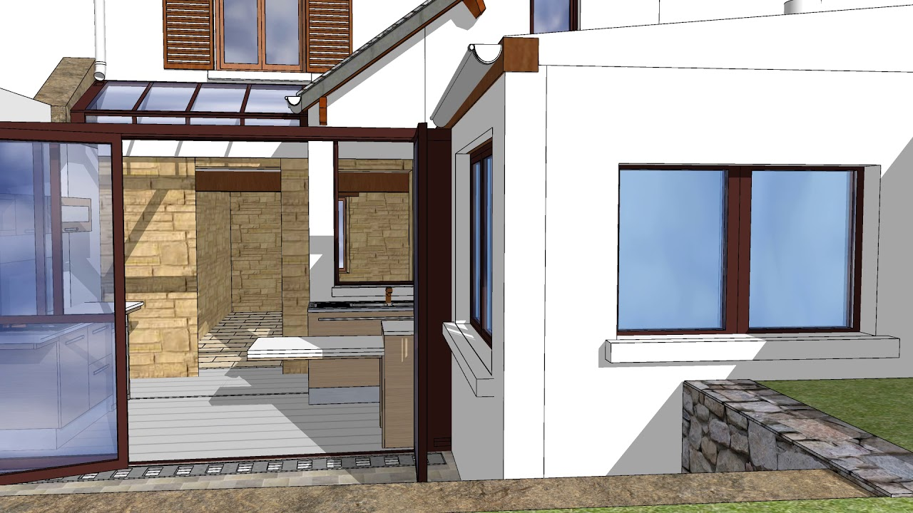 Projet Extention Sur Veranda By Grillon0748