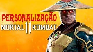 Mortal Kombat 11 - Gameplay da personalização, armas e armaduras, Scorpion branco e mais Fatalities