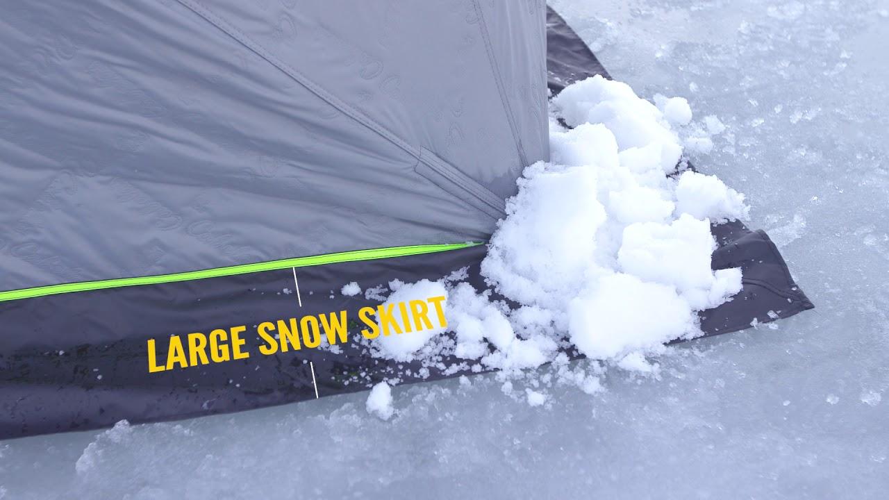 Cabela's Wide-Bottom Thermal Hub Ice Shelter