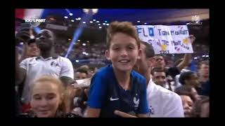Песьня про футболистов Франции и радость болельщиков после победы на чемпионате мира france