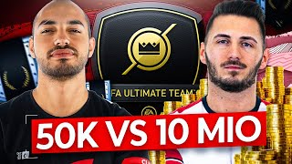 50K TEAM VS. 10 MIO MIRZA TEAM | FIFA 20